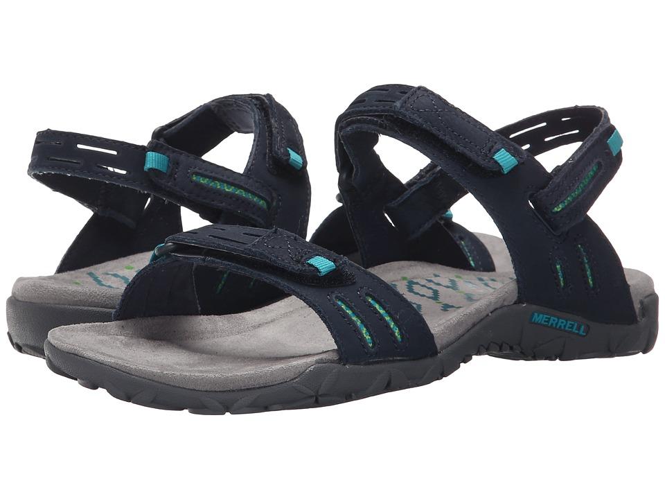 Merrell - Terran Strap II (Navy) Womens Shoes