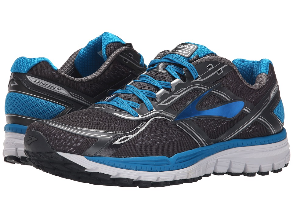 Brooks Ghost 8 Anthracite/Methyl Blue/Whiter Mens Running Shoes
