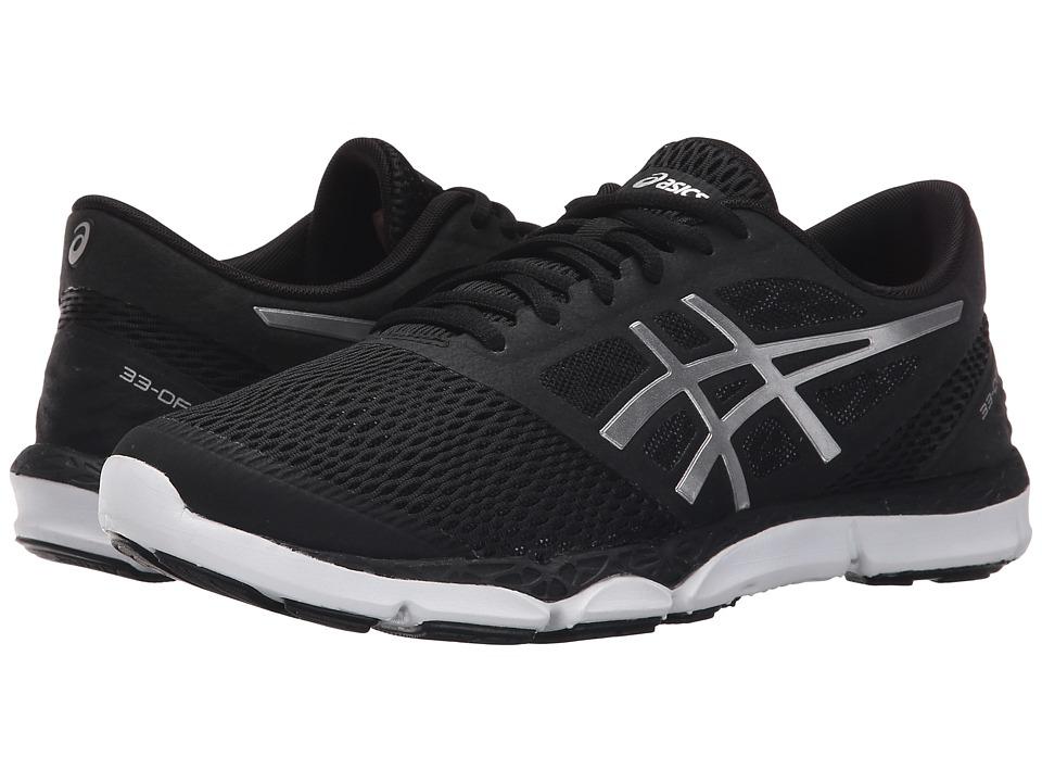 ASICS 33 DFA 2 Black/Silver/Onyx Womens Running Shoes