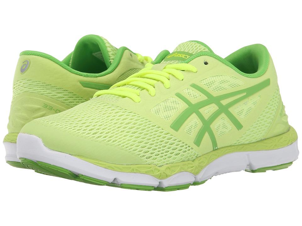 ASICS 33 DFA 2 Sharp Green/Jasmine Green/Flash Yellow Womens Running Shoes