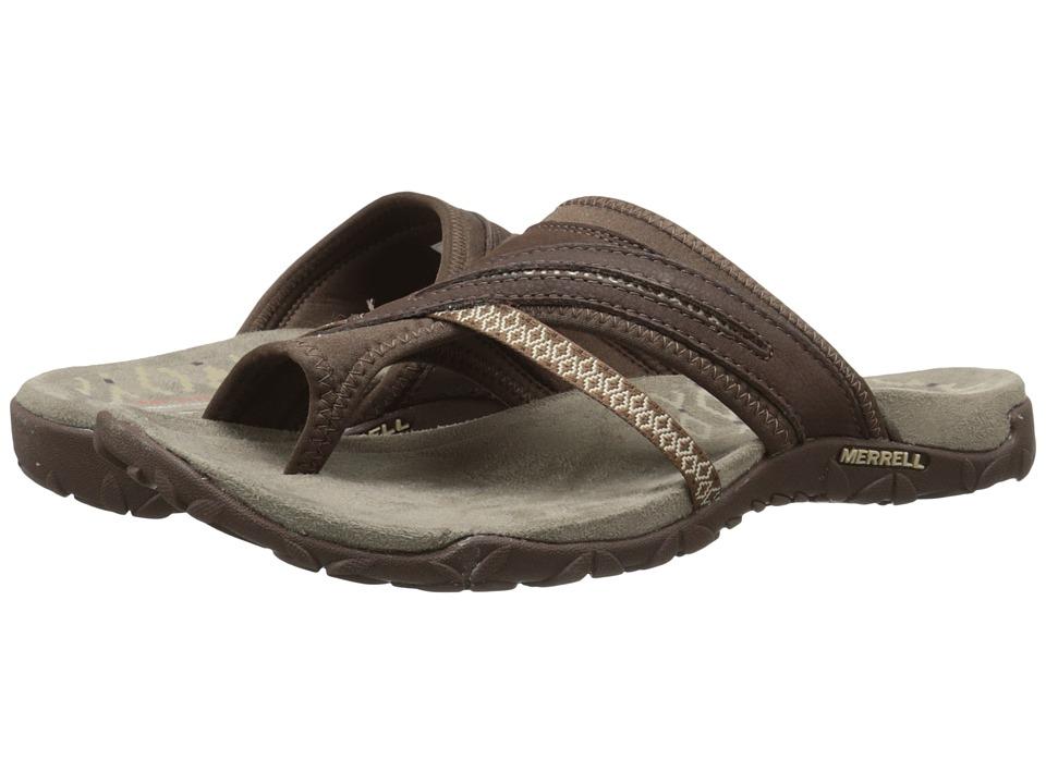Merrell - Terran Post II (Dark Earth) Womens Shoes
