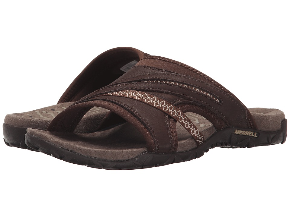 Merrell - Terran Slide II (Dark Earth) Womens Shoes