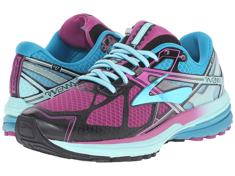 Brooks Ravenna 7 (Deep Orchid/Caneel Bay/Aruba Blue) Women