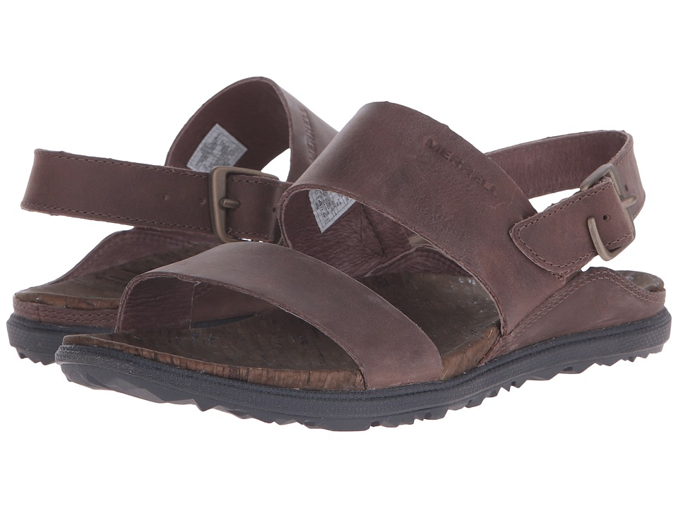 Merrell - Around Town Backstrap (Brown) Womens Shoes