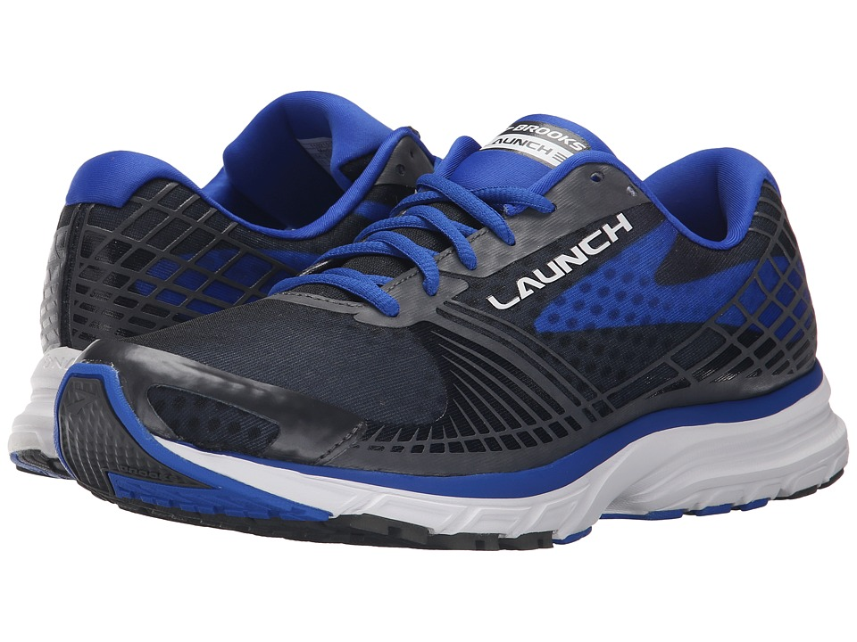 Brooks Launch 3 (Anthracite/Electric Brooks Blue) Men