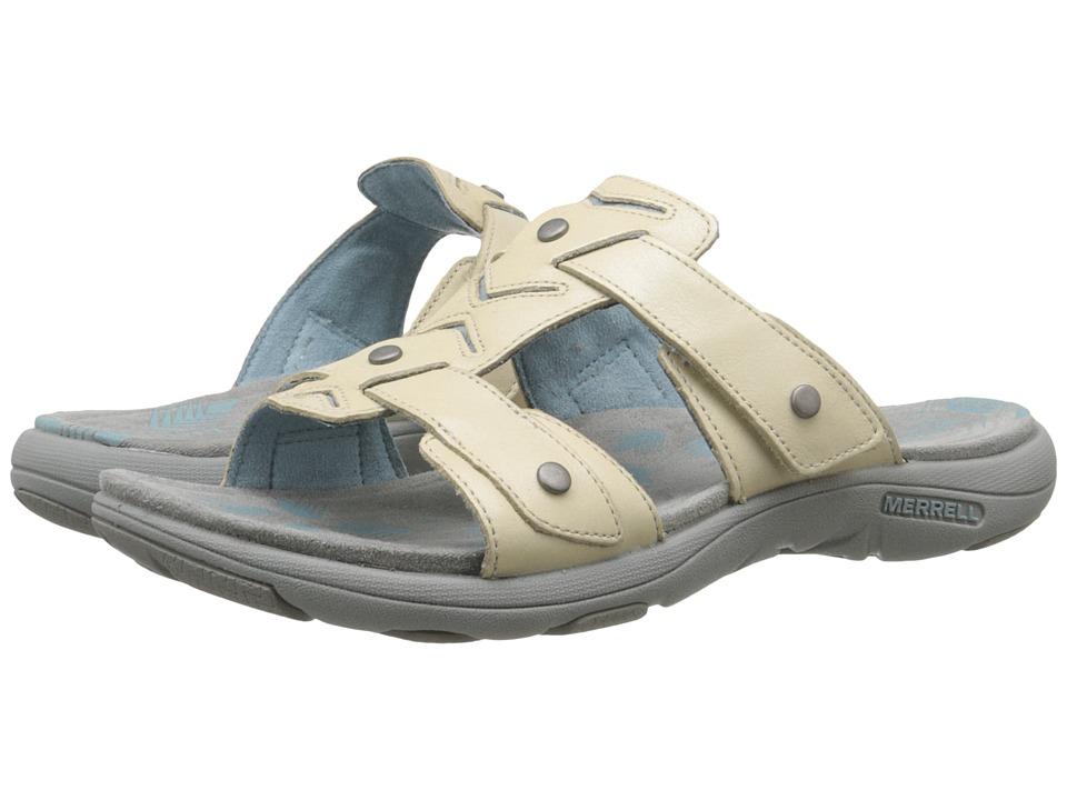 Merrell - Adhera Slide (Ivory) Womens Shoes