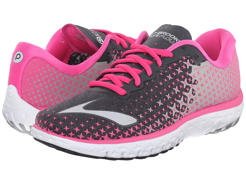 Brooks PureFlow 5 (Anthracite/Pink Glow/Alloy) Women