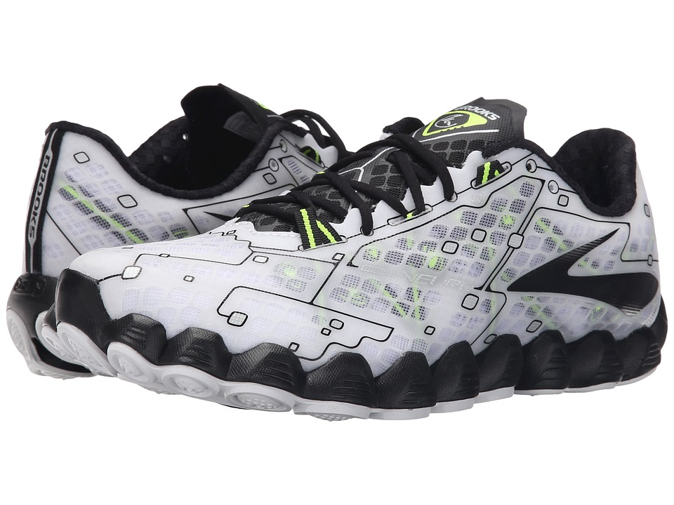 Brooks Neuro (White/Black/Nightlife) Men