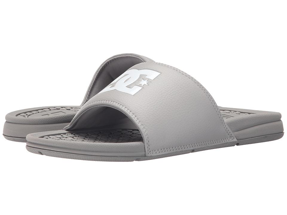 DC Bolsa Grey Mens Sandals
