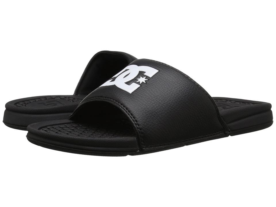 DC Bolsa Black Mens Sandals