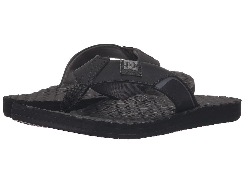 DC Kush (Black) Sandals