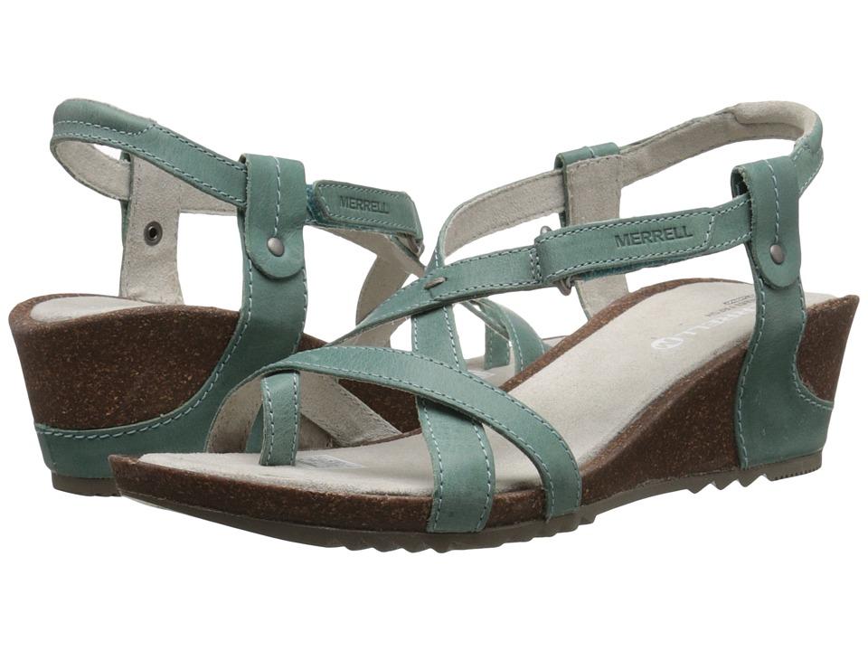 Merrell - Revalli Aura Post (Jade) Womens Shoes