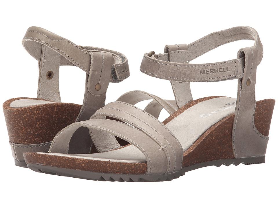 Merrell - Revalli Aura Strap (Grey) Womens Shoes