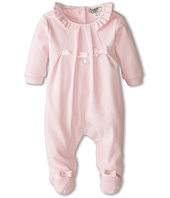 Armani Junior - Pink Bow w/ Ruffle Footie (Infant)