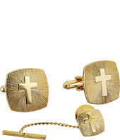 Stacy Adams - Cross with Brust Cuff Links