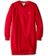 Armani Junior - Sweatshirt Dress w/ Side Shoulder Fold (Big Kids)