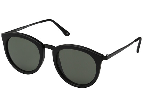 Le Specs No Smirking - Black Rubber/Khaki Mono