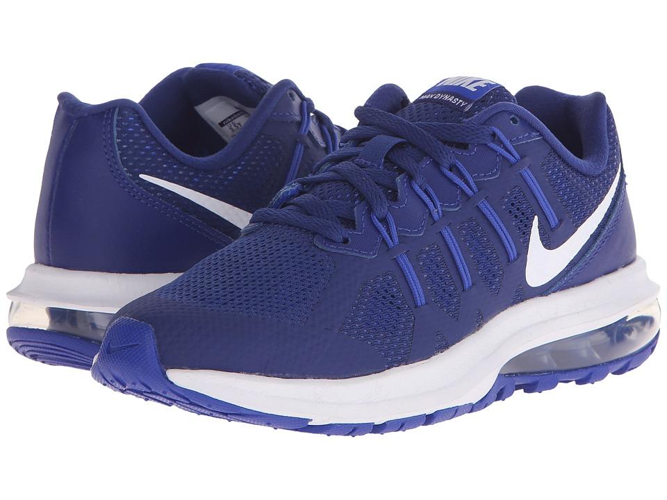 Nike Kids Air Max Dynasty Big Kid Deep Royal Blue/Racer Blue/White Boys Shoes