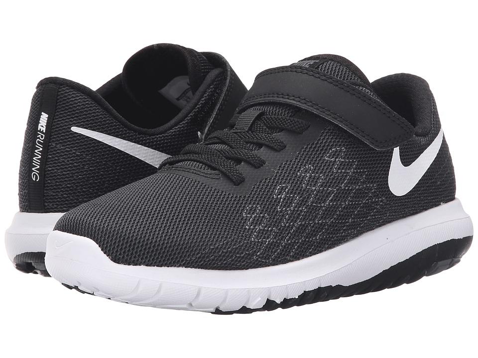 Nike Kids Flex Fury 2 (Little Kid) (Black/Dark Grey/Anthracite/White) Boys Shoes