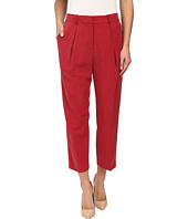 Anne Klein - Washed Linen Saville Pants