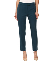 Anne Klein - Washed Linen Slim Pants