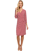 Anne Klein - Chain Link Wrap Dress