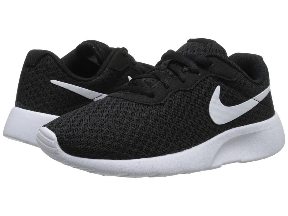 cf8a4824bb9e5 Nike Kids - Tanjun (Big Kid) (Black White White) Boys Shoes from ...