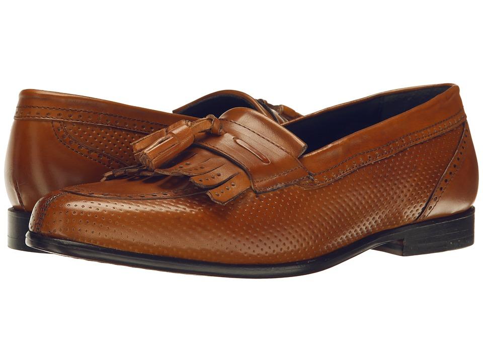 Messico Roman Honey Leather Mens Dress Flat Shoes