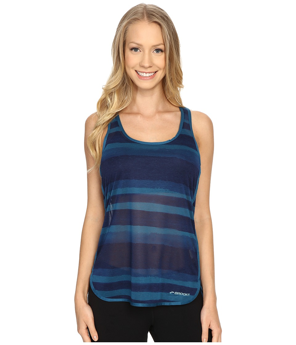 Brooks Ghost Racerback Top River Scape Womens Sleeveless