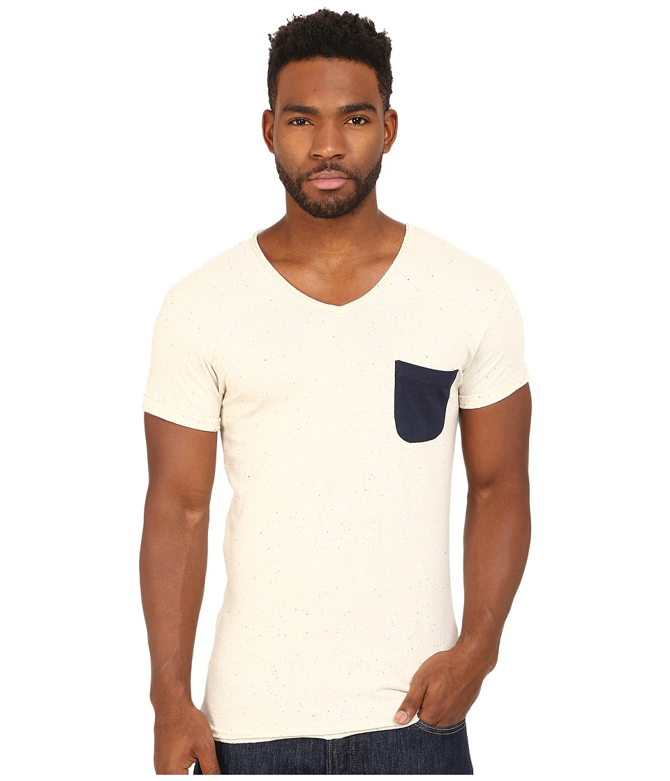 Eleven Paris Babico Tee Motteled White Mens T Shirt