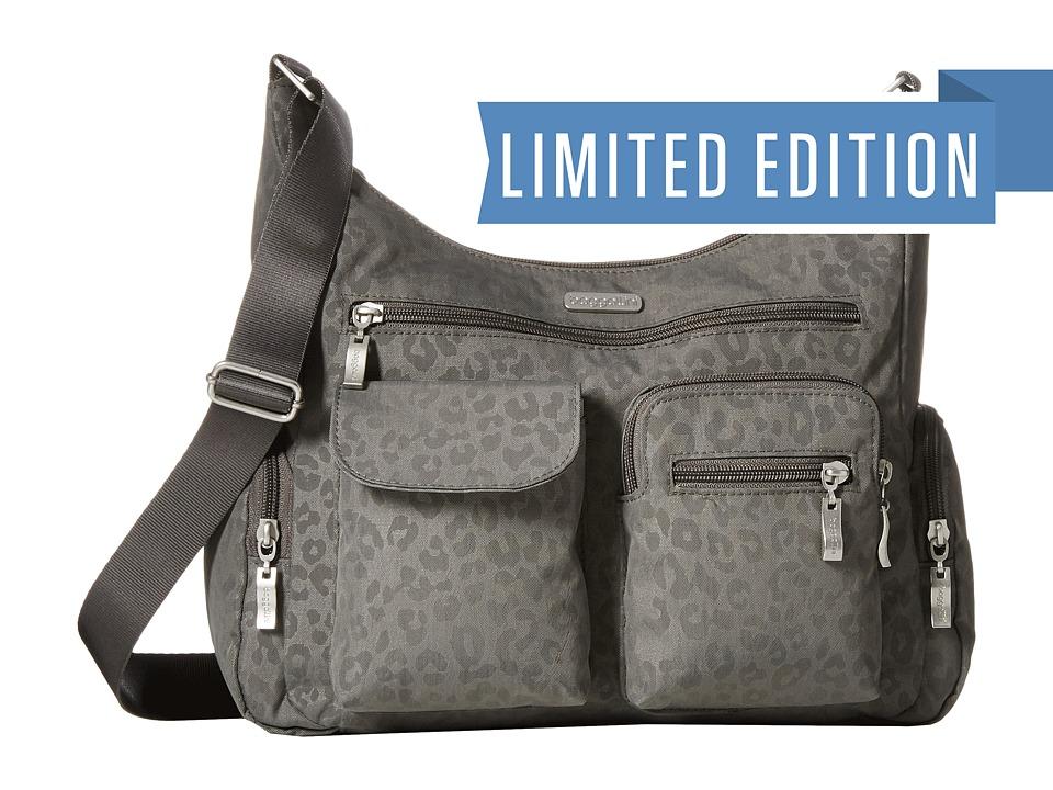 Baggallini - Everywhere Bagg (Pewter/Cheetah) Cross Body Handbags