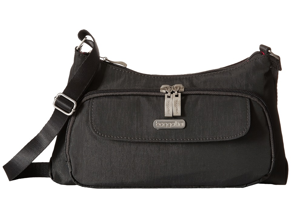 Baggallini Everyday Bagg (Charcoal) Cross Body Handbags