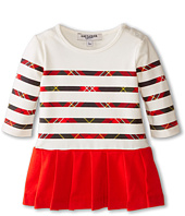 Junior Gaultier - Pancake Plaid Striped Dress (Infant/Toddler)