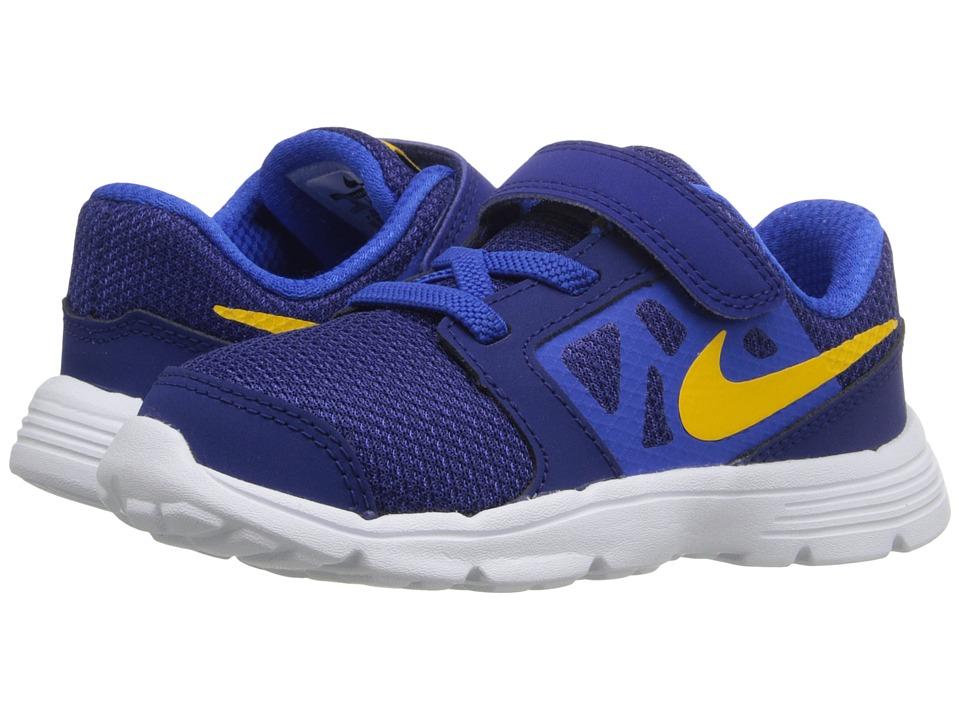 Nike Kids Downshifter 6 Infant/Toddler Deep Royal Blue/Hyper Cobalt/White/Varsity Maize Boys Shoes