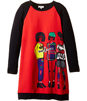 Junior Gaultier - Pierra Long Sleeve Dress (Big Kid)