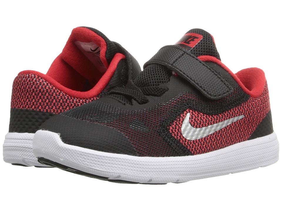 Nike Kids - Revolution 3 (Infant/Toddler) (University Red...