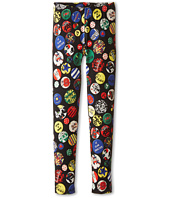 Junior Gaultier - Plume All Over Print Leggings (Big Kid)
