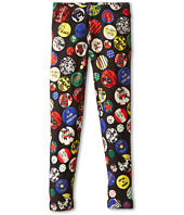 Junior Gaultier - Plume All Over Print Leggings (Toddler/Little Kid)