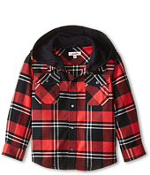 Junior Gaultier - Pax Plaid Check Shirt (Toddler/Little Kid)