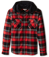 Junior Gaultier - Pax Plaid Check Shirt (Big Kid)