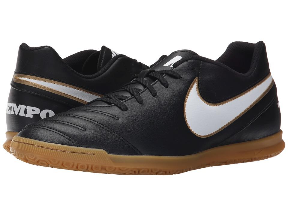 Nike - Tiempo Rio III IC (Black/White) Mens Soccer Shoes