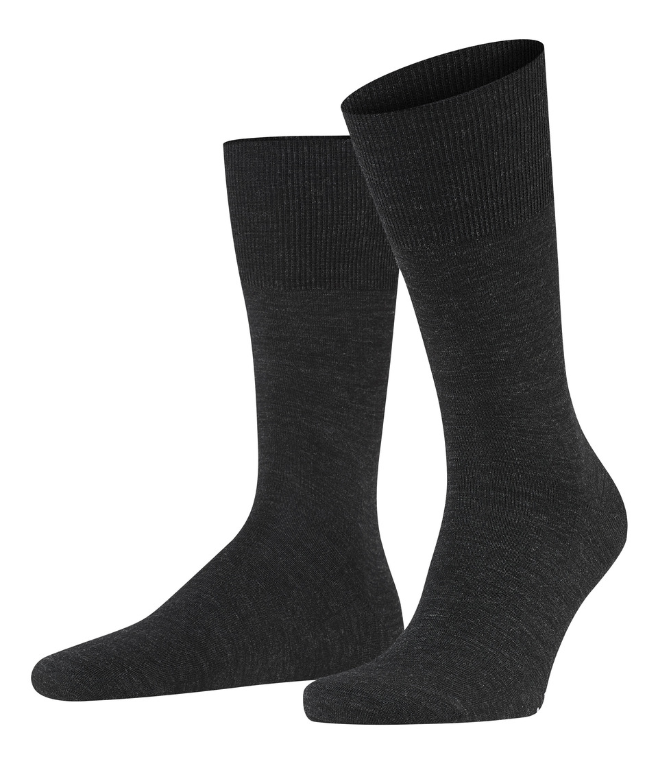 Falke Airport Crew Socks Anthracite Mens Low Cut Socks Shoes