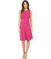 Anne Klein - Stretch Crepe Fit & Flare Dress