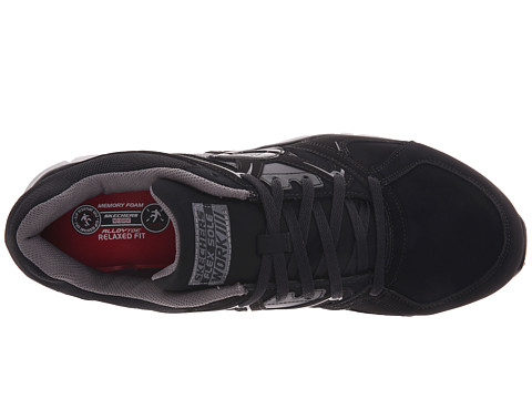 ekron girls Skechers synergy ekron work shoe these skechers synergy ekron work shoes may look like the average running shoe, but they are made for working this style features a suede upper with an alloy toe.