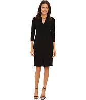 Nine West - 3/4 Sleeve Jersey Cocktail Dress