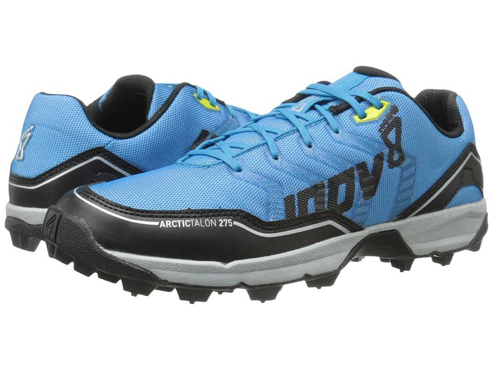 inov 8 Arctic Talon 275 Blue/Black/Silver/Yellow Running Shoes