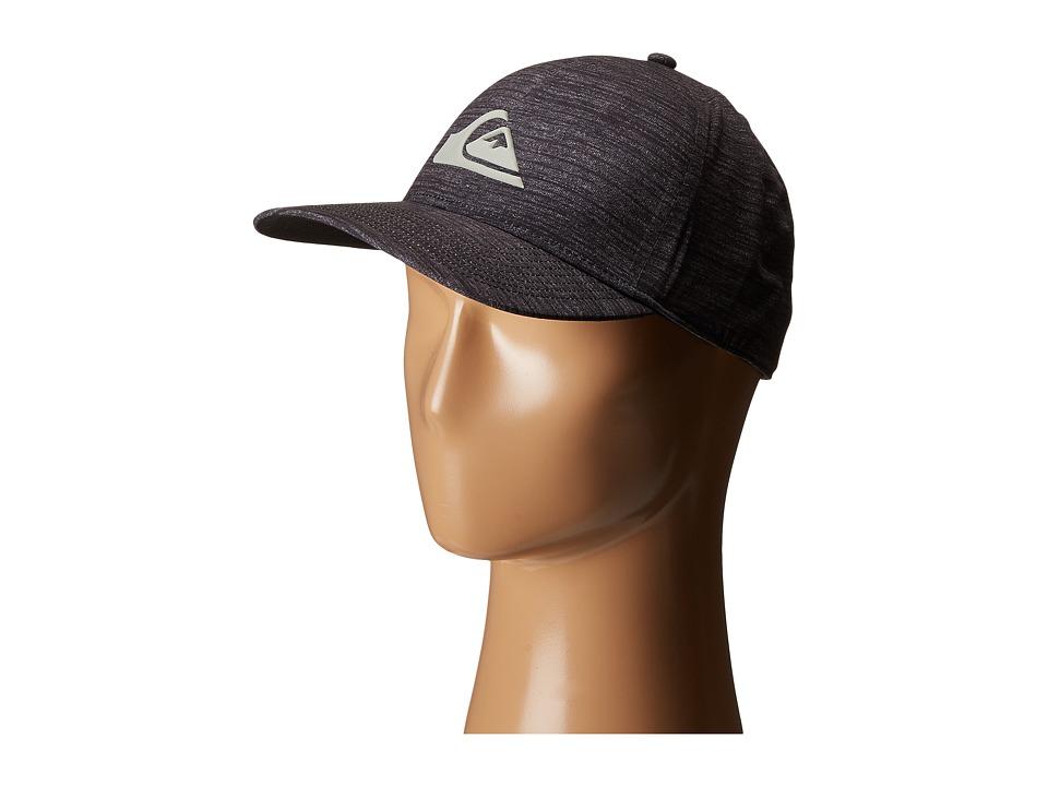 Quiksilver AG47 Mountain Wave Bonded Amphibian Hat Black Caps