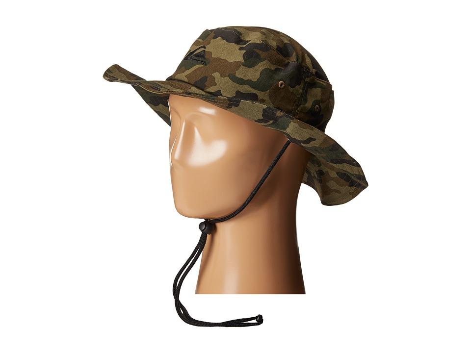 Quiksilver Bushmaster Hat Camo Caps