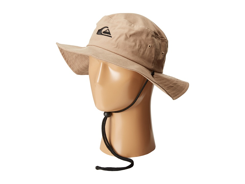 Quiksilver Bushmaster Hat Khaki Caps