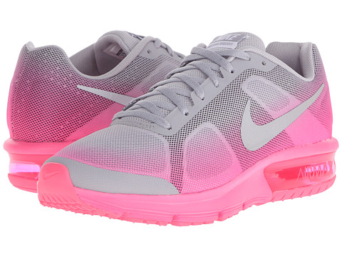 Nike Kids Air Max Sequent (Big Kid) - Wolf Grey/Hyper Pink/Reflect Silver